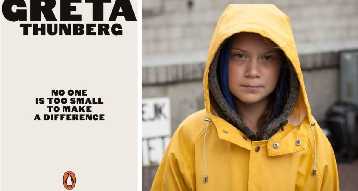 'No one is too small to make a difference': We review Greta Thunberg's book